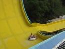 самый страшный аттракцион в аквапарке «AQUALAND» Анталия,я на такой же штуке каталась на Азовском море,только она круче была...ч